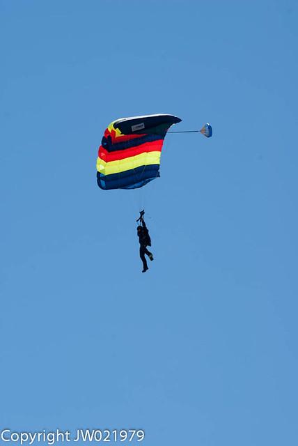 RAC/REME Parachute Display Team