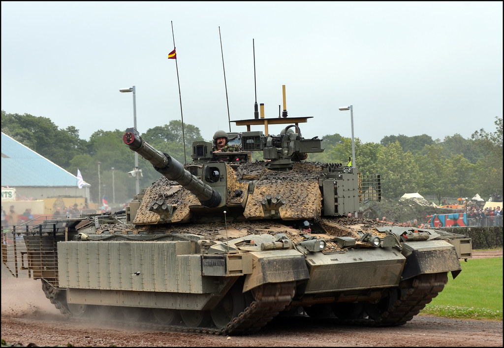 A Challenger 2 with added everything !