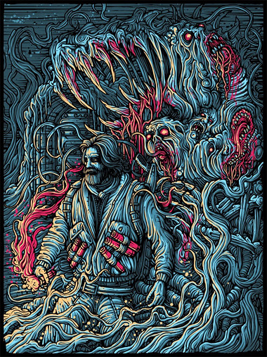 The Thing by Dan Mumford