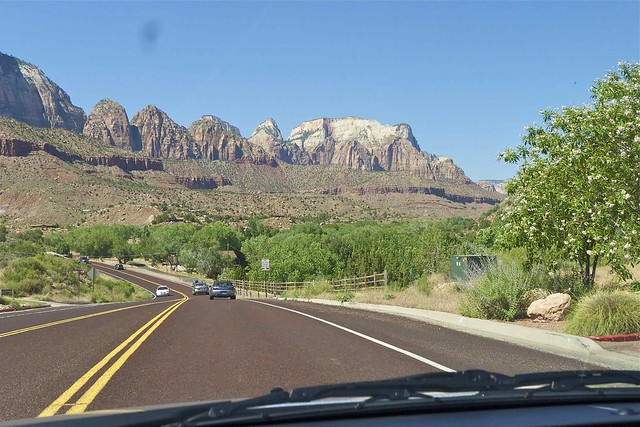 Heading to Zion
