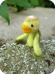 New kappa photos (michelleness) Tags: cute art wool japan felted japanese felting craft felt needlefelting fiber kappa roving