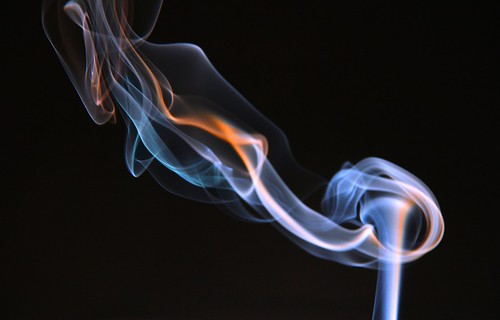 smoke photography / torch