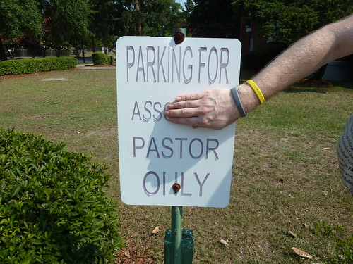 Parking for Ass Pastor Only