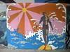 The Gilgo Surfer (Pushing_Pixels) Tags: ny newyork art painting mural surfer longisland publicart gilgobeach