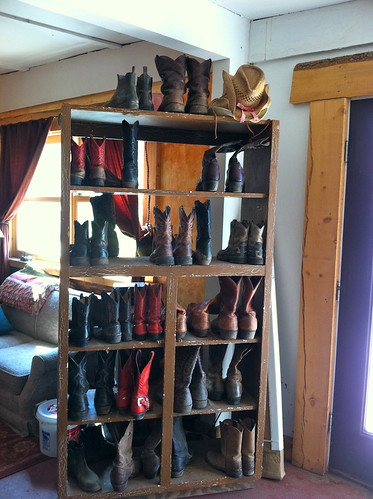 Black Mountain Ranch boot library