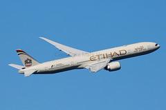 Etihad Airways Boeing 777-3FX(ER)A6-ETK (Mark Harris photography) Tags: spotting aircraft plane boeing yssy sydney canon 5d aviation