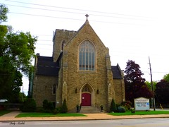 All Saints' Kingsway, Anglican Church  -  Explored (Trinimusic2008 - stay blessed) Tags: trinimusic2008 judymeikle architecture church today toronto to ontario canada trees signage bloorst candid