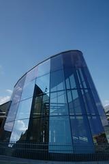 Tour & Taxis (Karyatis) Tags: tourtaxis belgium belgique belgie bruxelles brussel brussels blue architecture glass reflection karyatis