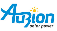 Auzion solar power logo