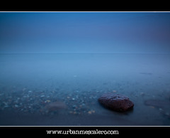 Bellevue Beach [Denmark] - From Here to Eternity (UrbanMescalero) Tags: blue water rock strand copenhagen denmark dawn danmark bellevue kbenhavn klampenborg bellevuebeach 2011 leefilters canoneos5dmarkii canonef24105lf4isusm bellevuestrand mygearandme mygearandmepremium mygearandmebronze mygearandmesilver mygearandmegold mygearandmeplatinum wwwurbanmescalerocom gorankljutic