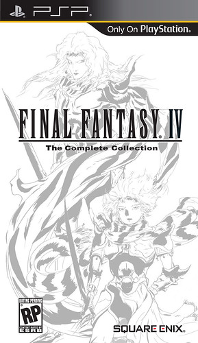 Final Fantasy IV: The Complete Collection for PSP