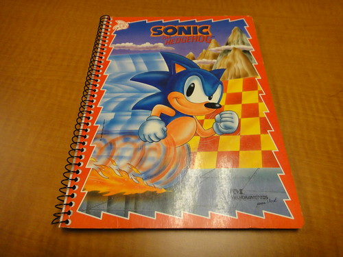 Sonic the Hedgehog Notebook