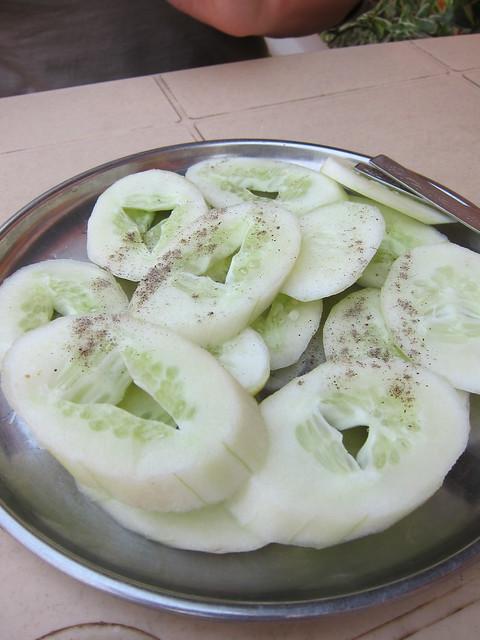 'Cucumber salad'