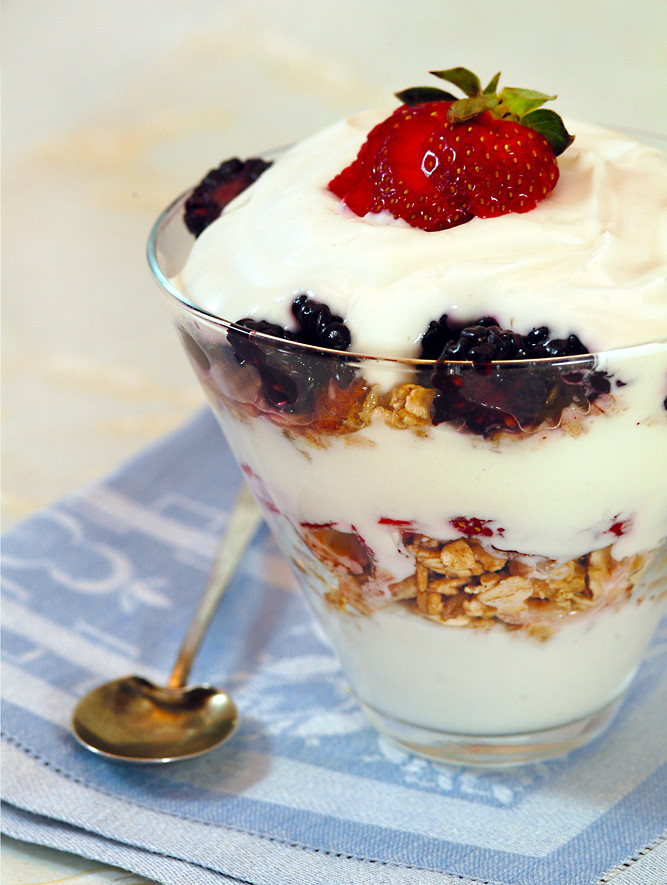 Maple Yogurt Parfait