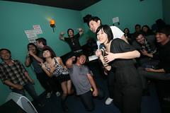 such passion! (electrofreeze) Tags: california max losangeles jen calvin sean anthony karaoke littletokyo dawon maxkaraoke