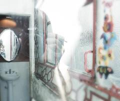 autoretrato con transparencia (ANNA TORMENTA) Tags: anna ventana autoretrato pantano espejo reflejo transparencia