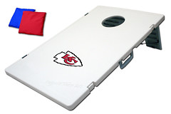 Kansas City Chiefs TailGate Toss 2.0 Plastic Cornhole Boards