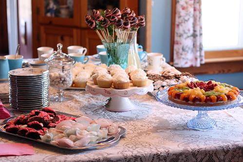 dessert is served