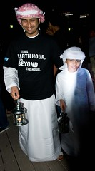 Abu Dhabi FIRST EVER Earth Hour public event (Earth Hour Global) Tags: lumière abudhabi musique bougie spectacle lumire earthhour