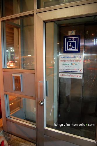sealed elevators at bts