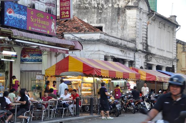 Penang street stalls