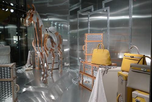 Vitrine Hermès - Paris, mars 2011