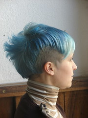 ocean blue hair cut (wip-hairport) Tags: blue haircut color portugal hair lisboa lisbon hairsalon motorhairport