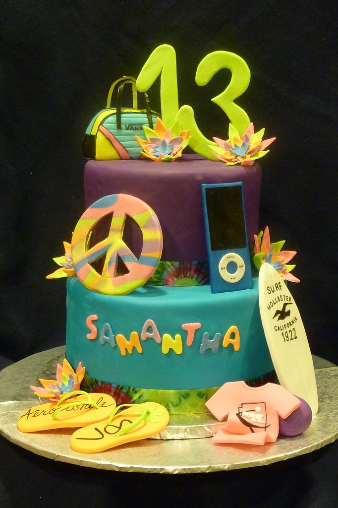Samantha's 13th Birthday Cake