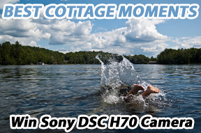 A best cottage moments from a Muskoka cottage in Ontario Canada