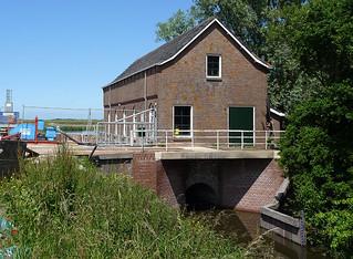 Wolphaartsdijk, Sluis De Piet 1: Gemaal De Piet