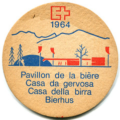 Swiss National Exposition 1964 (roger4336) Tags: beer schweiz switzerland suisse expo lausanne beermat bier coaster 1964 bierdeckel beercoaster swissnationalexposition
