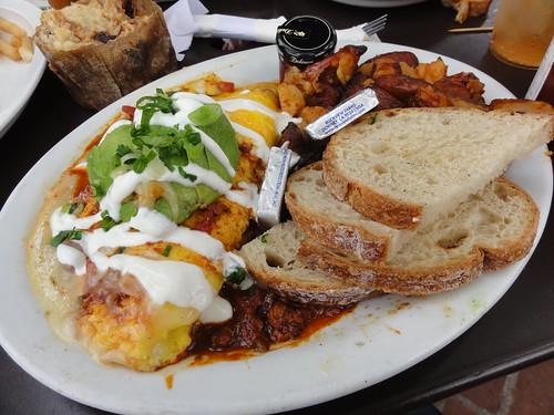 Heart Attack Omelette