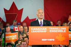 Jack Layton, Leaders Tour - Tournée du Chef - Dartmouth Rally