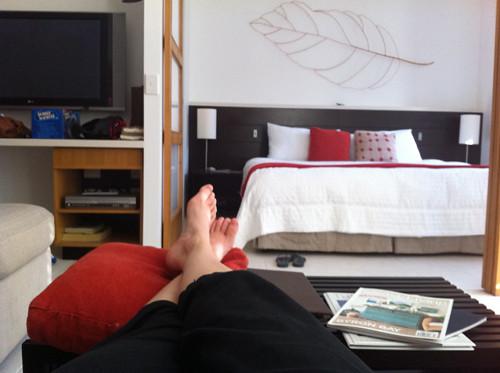 feet up bliss