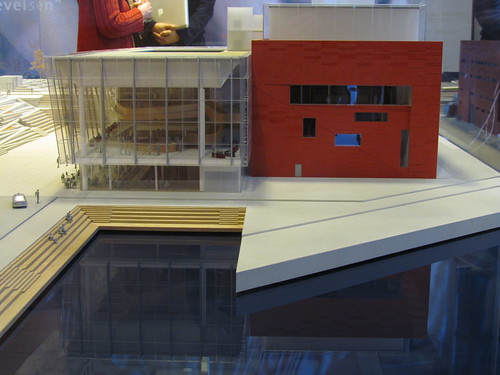 The model of the new concert hall in Stavanger