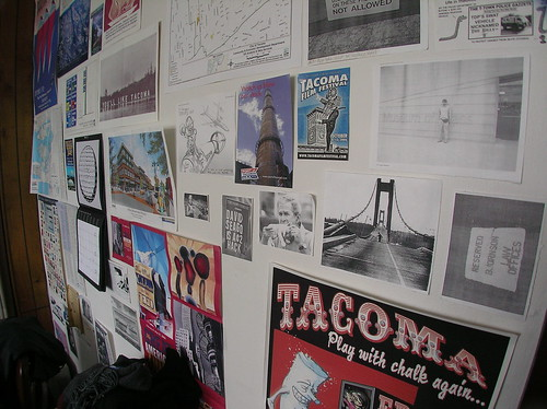"Tacoma Daily Index: Editor's Mystery Wall or ""Wunderkammer Gallery"""