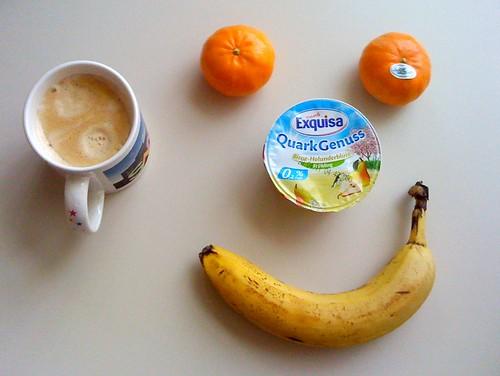 Quark Genuss, Clementinen & Banane