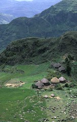 A village close to the Guassa area (Solimar International) Tags: community conservation area guassa