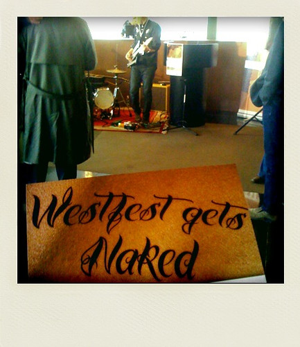 Taken at the Westfest launch, April 1 2011