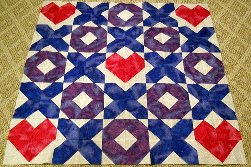 Baby Quilt top by Laurie_Mike