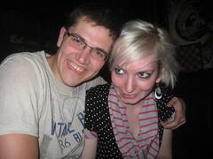 Rob and me (hatapota) Tags: leavingdrinks chrispaton craichouse ncvoit