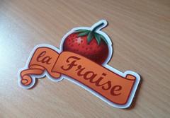 Sticker la Fraise (GeekShadow) Tags: tshirt tee fraise lafraise