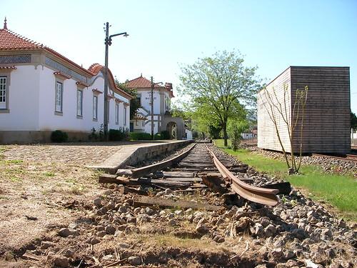 estação ferroviária de arco de baúlhe
