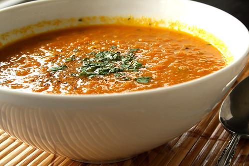 Eva Longoria's Carrot Ginger Soup