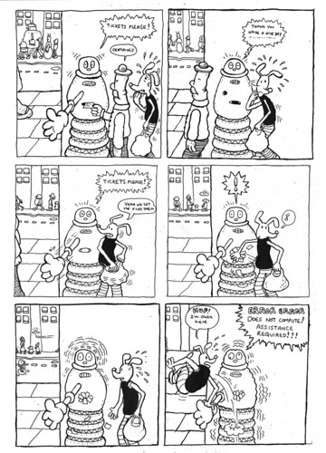 Knock About Town comic strip by S.D. Adams