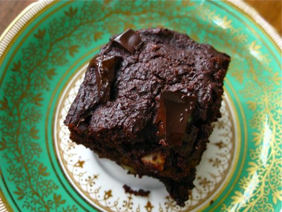 whole wheat chocolate brownies 006