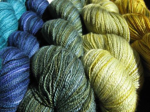 Indigodragonfly Merino Silk lace