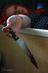 Mystery (Ben Richardson 16) Tags: red mystery death blood bath suicide emo knife selfharm mysteryandimagination