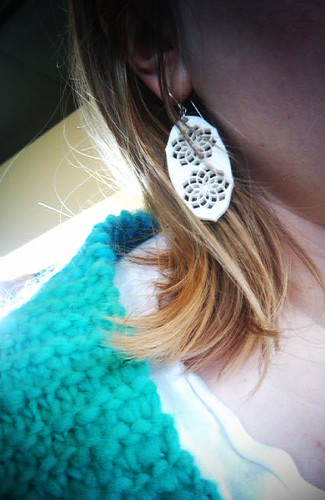 My @spiralshannon earrings (which secretly double as negativity shields)