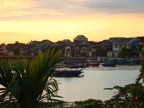 Sunset over Hoi An - VIETNAM